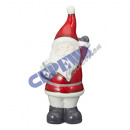 Santa Claus standing, M, about 20cnH