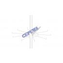 ingrosso Gioielli e conservazione: Anello di ricambio  per rack tondi, bianco