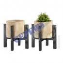 wholesale Flowerpots & Vases: Flowerpot with stand, large, approx.39cmH