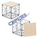 Table basket, foldable, 2 parts.