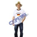 Fußball T-Shirt Trikot 'Deutschland' Erw.