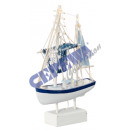 LED trawler, small, approx. 32cm