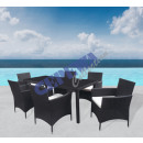 wholesale Garden Furniture: Outdoor dining  table Milano, 7-piece
