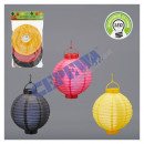 grossiste Cadeaux et papeterie: LED Paper Lantern   Allemagne  environ 20 cm, 3 Se