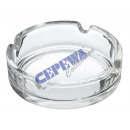 wholesale ashtray: Ashtray 'Basic', glass, ca. 10cmD