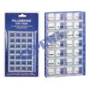 Pillenbox Wochenplaner, blau
