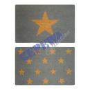 groothandel Tapijt en vloerbedekking: Kokos deurmat   Stars , 4 / s, ongeveer 40x60cm