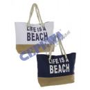 ingrosso Altre borse: borsa da spiaggia   La vita è una spiaggia , 2 / s,