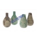groothandel Bloemenpotten & vazen: Vaas  Del Sol , 4  / s, mini, ongeveer 10 cm