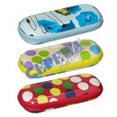 wholesale Glasses: Spectacle case  with zip closure, 4 / s,