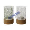 grossiste Bougies & bougeoirs: Lanterne « Feuille  », petit, environ 12cm