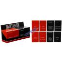groothandel Rook-accessoires: Sigaret box,  plastic, Gezegden beide zijden 4 / s