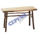 Deko table, about 120x72x50cm