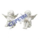 Mini Engel mit Strassstein, wei�, 2/s, ca. 5cm