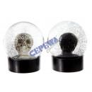 grossiste Boules de neige: 'Crâne'  Snow Globe, 2 / s, environ 10cmD