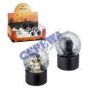 grossiste Boules de neige: Snow Globe, mini,  'Skull', 2 / s, environ