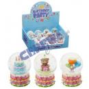 Snow globe, mini, ' Happy Birthday ', 3 /