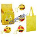 groothandel Tassen & reisartikelen: Bag 'SMILE', opvouwbaar, 4 / s,