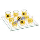 Großhandel Partyartikel: Trinkspiel 'Tic Tac Toe', 10tlg, ca. 16x16cm