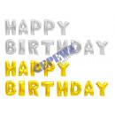 mayorista Alimentos y bebidas: Globo de papel, Happy Birthday , 2 / s, Set de 14