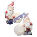 Snow Santa Claus z kulką LED, 2 / s, kl., Ca.