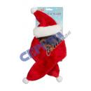 nagyker Üdvözlőkártyák: Karácsonyi szett kutyákhoz, plüss, 2 db