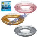 Großhandel Wassersport & Strand: Aufblasbarer Schwimmring, glitzer, 3/s, ...