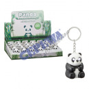 Keychain Panda, with light and sound, ca.