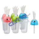 wholesale Other: Popsicle shape, parrot, for 6 pieces