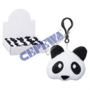 Mini pillow Panda, with pendant, about 12cmH