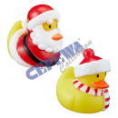 Bath duck Xmas, 2 / s, ca.6cm