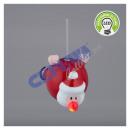 Wieszak na choinkę LED, Święty Mikołaj, ok. 12 cmL
