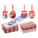 wholesale Artificial Flowers: Christmas ornament, Nordic, set of 6, 2 / s, ...