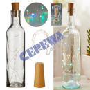 groothandel Huishouden & Keuken: * RECLAME * 8 LED-flessenlicht, kleurrijk, ongevee