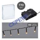 wholesale Light Garlands: LED light chain, OUTDOOR, timer, 96er, approx. 770