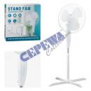 grossiste Climatiseurs et ventilateurs: Ventilateur sur pied, blanc, environ 40cmD 120cmH