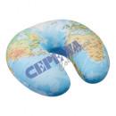mayorista Articulos de viaje: Almohada para el cuello, mapa mundial