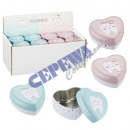 wholesale Child and Baby Equipment: Milk tooth box in heart shape 4-fold sort.