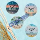 wholesale Clocks & Alarm Clocks: Wall clock sayings 3, 4 / s, approx. 28 cmD