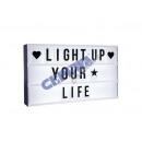 groothandel Sieraden & horloges: * RECLAME * LED  Lightbox  'A3', 100 ...