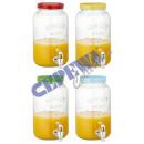Drink dispenser Uni with taps, 3,5L, 4 / s