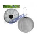 LED Solar Lampion OUTDOOR, ciemnoszary, zielony, 3