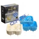 groothandel Bakken: Eiskugelform   Balls , L, 2 / s voor 4 stuks, 4cm d
