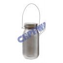 Großhandel Windlichter & Laternen: Solar LED  Windlicht   Vorratsglas , ...