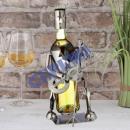 wholesale Food & Beverage: Weinflaschenhalter Guitar Player , 26cm