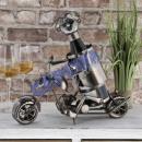 wholesale Food & Beverage: Weinflaschenhalter motorcycle , 27cm