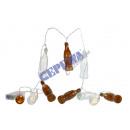 grossiste Chaines de lumieres: LED lumières de  Noël  Bottle , 10LED, 160cm