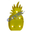grossiste Ampoules: lampe LED   ananas , 5 LED, 25cm