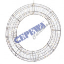 wholesale Business Equipment: LED wreath 'silver wire', ...