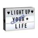 Großhandel Geschäftsausstattung: LED Lightbox 'A6', m.60 Buchstab/Symbolen, ...